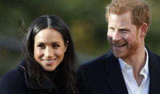 Prinz Harry und Meghan Markle geben sich das Jawort. (Foto)