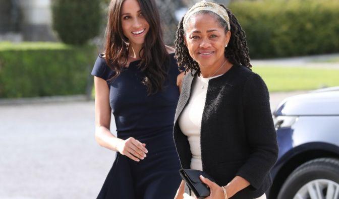 US-Schauspielerin Meghan Markle und ihre Mutter, Doria Ragland.