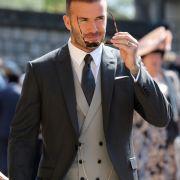 David Beckham nimmt ebenfalls an der royalen Hochzeit teil.