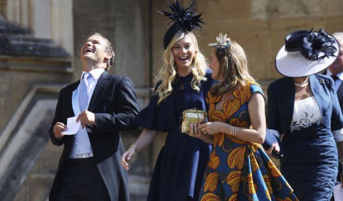 Auch Prinz Harrys Ex-Freundin, Chelsy Davi, ist bei der Hochzeit dabei.