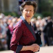 Prinzessin Anne (Princess Royal) kommt zur St.-Georgs-Kapelle.