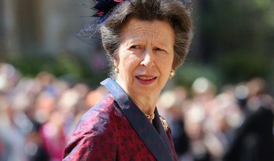 Prinzessin Anne (Princess Royal) kommt zur St.-Georgs-Kapelle.