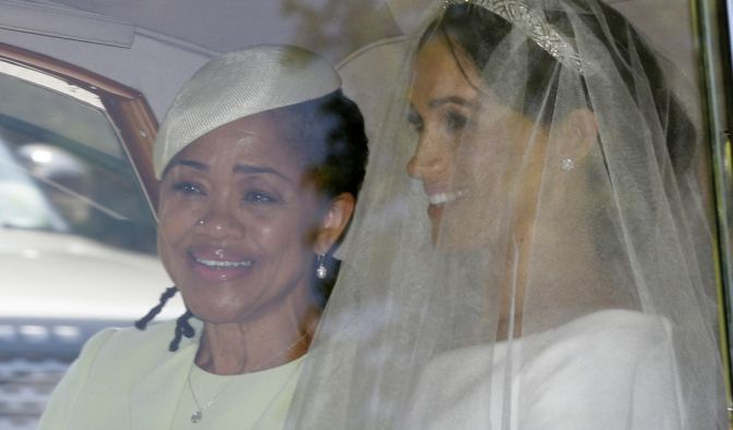 Meghan Markle zusammen mit ihrer Mutter.