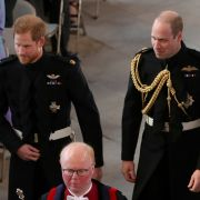Prinz Harry und sein Trauzeuge und Bruder Prinz William.