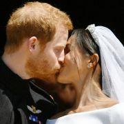 SO romantisch war die Royal-Wedding (Foto)