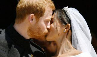 Prinz Harry und Meghan Markle sind verheiratet. (Foto)