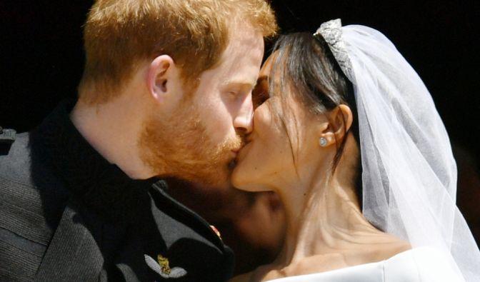 Der Hochzeitskuss.