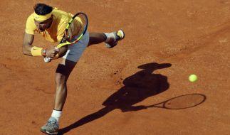 Der Spanier Rafael Nadal hat das Finale bei den ATP Rome Masters 2018 erreicht. (Foto)