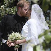 Gäste, Brautkleid, Hochzeitskuss: Die schönsten Bilder der Hochzeit (Foto)
