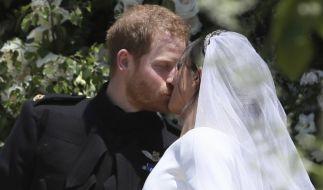 Prinz Harry und Meghan Markle haben am 19. Mai geheiratet. (Foto)
