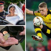 Lady Di bei Royal Wedding dabei // Mehr Geld nach Rentenreform? // DFB-Star hat geheiratet (Foto)