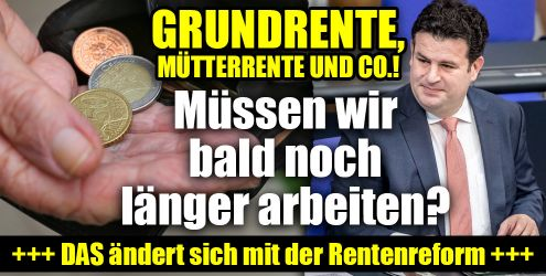 Mütterrente, Grundrente und Co.! (Foto)