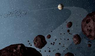 Asteroid von Planeten in unser Sonnensystem gelockt. (Foto)