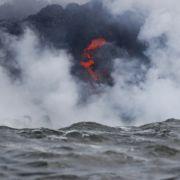 Giftgas-Alarm! So gefährlich ist Lava im Ozean (Foto)