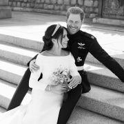 Romantik pur! DAS sind die offiziellen Hochzeitsfotos (Foto)
