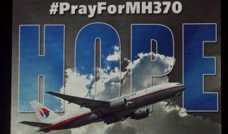 MH370-Plakat (Foto)