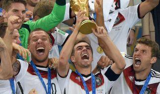 Werden die Deutschen den Titel verteidigen? Fiebern sie live vorm heimischen TV mit. (Symbolbild) (Foto)