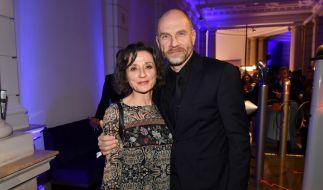 Götz Schubert und seine Ehefrau Simone Witte. (Foto)