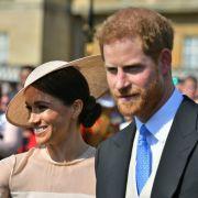 1. Auftritt als Ehepaar! SO zauberhaft strahlt sie als Herzogin Meghan (Foto)