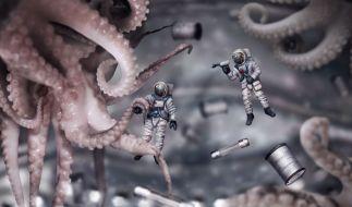 Stammen Oktopus und Co. aus dem All? Forscher sagen ja! (Symbolbild) (Foto)
