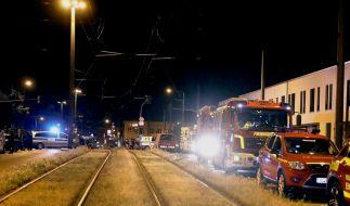 In Dresden ist die zu entschärfende Bombe zum Teil detoniert. (Foto)