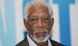 Hollywoodstar Morgan Freeman sieht sich Vorwürfen der sexuellen Belästigung ausgesetzt. (Foto)
