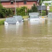 Straßen überflutet, Keller voll - SO wütet das Wetter in Sachsen (Foto)