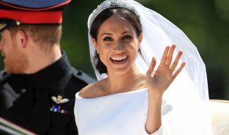 Meghans Make-up sitzt! Jetzt erzählt ihr Visagist, wie sie den Morgen der Hochzeit verbrachten. (Foto)