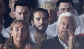Tom Kaulitz, aktueller Freund von Heidi Klum, scheint wenig begeistert vom Finale der 13. Staffel GNTM zu sein. (Foto)
