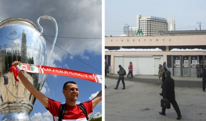 Bombendrohung in Kiew