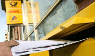 Die Deutsche Post will das Porto weiter erhöhen. (Foto)