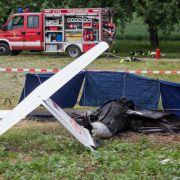 Flugzeug in Flammen! Zwei tödliche Flugunfälle in Baden-Württemberg (Foto)