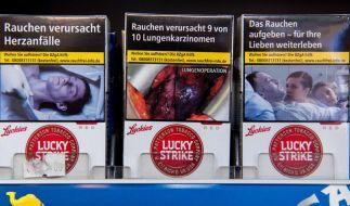 Die Schockbilder auf Zigarettenschachteln scheinen laut einer Studie vor allem bei Nichtrauchern zu funktionieren. (Foto)