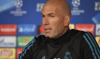 Zinédine Zidane tritt überraschend als Trainer von Real Madrid zurück. (Foto)