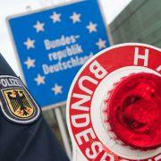Schärfere Grenzkontrollen zwischen Deutschland und Österrreich (Foto)