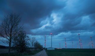 Tief Wilma sorgt weiterhin für Unwetter über Deutschland. (Foto)