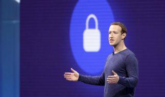 Mark Zuckerberg erstickte bei der diesjährigen Aktionärsversammlung jegliche Kritik im Keim. (Foto)