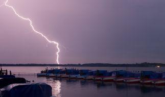 Nur mit viel Glück überlebte ein Mann einen Blitzeinschlag (Symbolbild). (Foto)