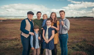 Angelo Kelly und seine Familie (Foto)
