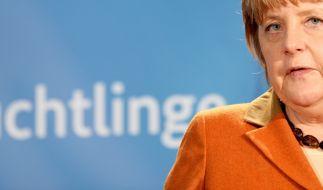 Bundeskanzlerin Angela Merkel muss sich nach dem Bamf-Skandal unangenehme Fragen der Opposition gefallen lassen. (Foto)