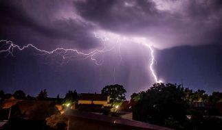 """Tief """"Xisca"""" sorgt ab Mittwoch, 6. Juni 2018, für Unwetter mit kräftigen Gewittern. (Foto)"""