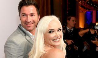 Sind seit zwei Jahren verheiratet: Daniela Katzenberger und Lucas Cordalis. (Foto)