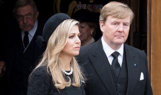 König Willem-Alexander und Königin Máxima trauern. (Foto)
