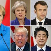 Mega-Eklat! Trump stänkert vor G7-Treffen (Foto)