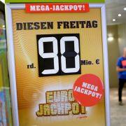 90 Mio. Euro gewinnen, ohne den Jackpot zu knacken? SO geht's (Foto)