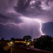 Achtung! Hier ziehen neue Unwetter über Deutschland (Foto)