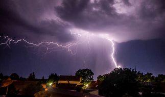 Nach dem Unwetter ist vor dem Unwetter: Die nächsten Gewitter nehmen laut Deutschem Wetterdienst bereits Kurs auf Deutschland. (Foto)
