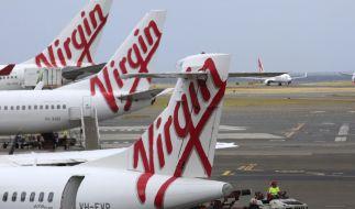 Weil eine Passagierin an Bord einer Virgin-Australia-Maschine ausrastete, musst das Flugzeug zwischenlanden. (Foto)