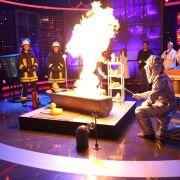 Für Joey Heindle wurde es bei RTL richtig brenzlig (Foto)