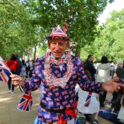 Die Briten feiern ihre Queen bei der Militärparade